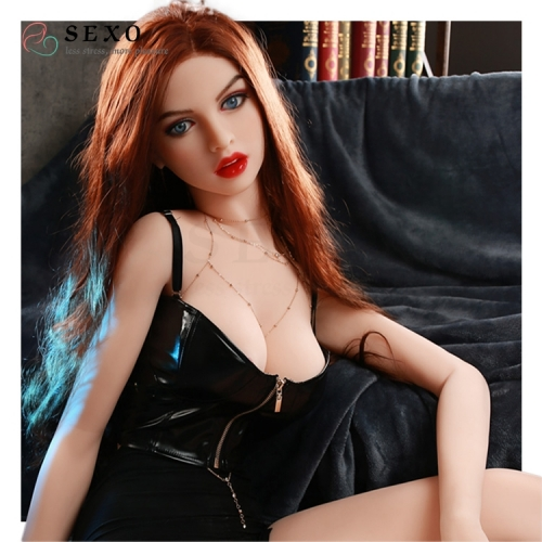SEXO 168cm Sexy figure red hair spy lovedolls my love doll