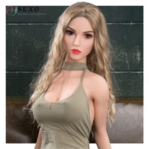SEXO 170cm Sexy blonde stunner deadly temptation my love doll silicone dolls