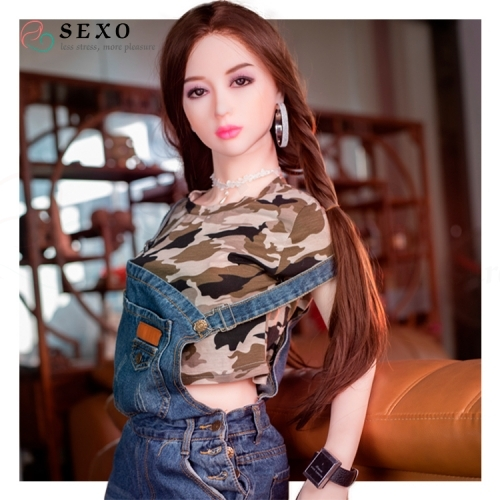 SEXO 150cm Asian style little chest gentle woman tpe love doll life like dolls