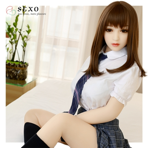 SEXO 158cm Youth student uniform Japanese girl girlfriend silicon dolls