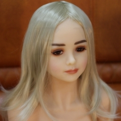 SEXO 125cm Petite blonde delicate small girl sex dolls realdolls