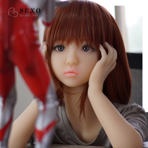SEXO 100cm Small chest flat chest little child young sex dolls real dolls