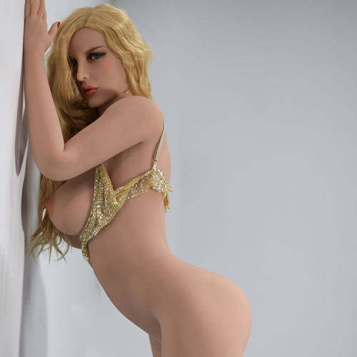 SEXO Dolls - 163cm Blonde Hair Blue Eyed Sexy Girl Sex Dolls